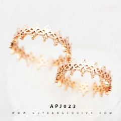 Nhẫn cưới vương miện APJ023