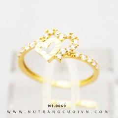 Nhẫn nữ đẹp N1.0069