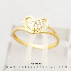 Nhẫn nữ đẹp N1.0078