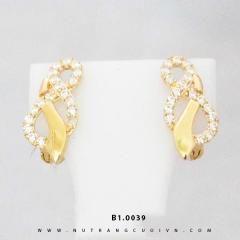 Bông tai vàng B1.0039