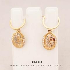 Mua Bông tai vàng B1.0042 tại Anh Phương Jewelry