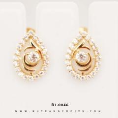 Mua Bông tai vàng B1.0046 tại Anh Phương Jewelry