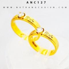 Nhẫn cưới đẹp ANC127