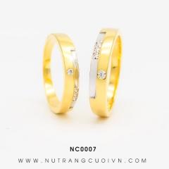 Mua Nhẫn cưới đẹp NC0007 tại Anh Phương Jewelry