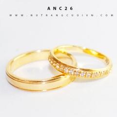 Mua Nhẫn cưới đẹp ANC26 tại Anh Phương Jewelry