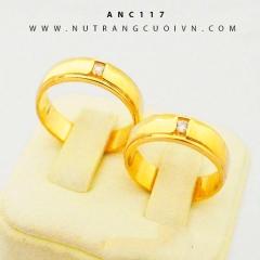 Nhẫn cưới đẹp ANC117