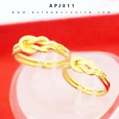 Mua Nhẫn cưới vô cực APJ011 tại Anh Phương Jewelry