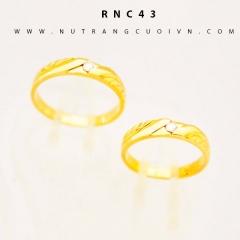 Nhẫn cưới đẹp RNC43