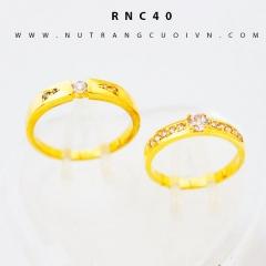 Nhẫn cưới đẹp RNC40
