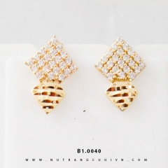 Bông tai vàng B1.0040