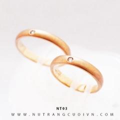 Nhẫn cưới đẹp NT03