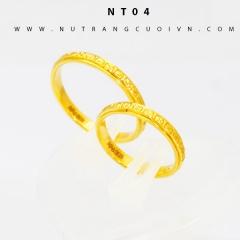 Mua Nhẫn cưới đẹp NT04 tại Anh Phương Jewelry