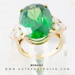 Mua Nhẫn nữ đính đá xanh lá MTN0325 tại Anh Phương Jewelry