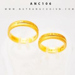 Nhẫn cưới đẹp ANC106