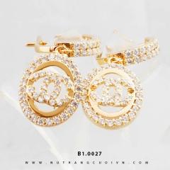 Bông tai vàng B1.0027
