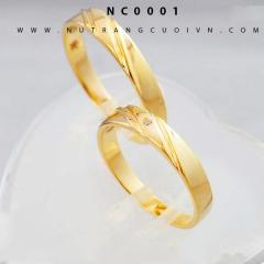 Mua Nhẫn cưới đẹp NC0001 tại Anh Phương Jewelry