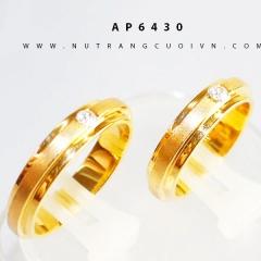 Mua NHẪN CƯỚI ĐẸP AP6430 tại Anh Phương Jewelry