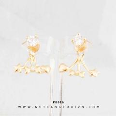 Bông tai vàng PB016