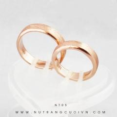Nhẫn cưới vàng NT05