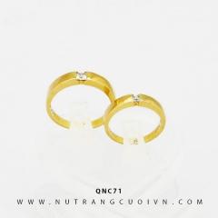 Nhẫn cưới QNC71