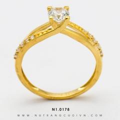 Nhẫn đính hôn N1.0178