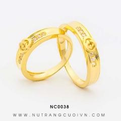 Nhẫn cưới NC0038