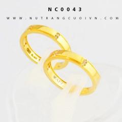 Nhẫn cưới vàng NC0043
