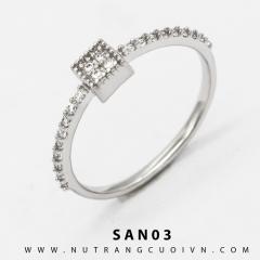Mua Nhẫn nữ T1.SAN03 tại Anh Phương Jewelry