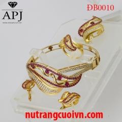 Mua Bộ trang sức cưới ĐB0010 tại Anh Phương Jewelry