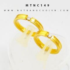 Nhẫn cưới vàng MTNC149
