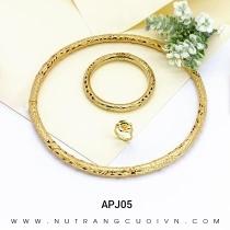 Mua BỘ TRANG SỨC CƯỚI APJ05 tại Anh Phương Jewelry