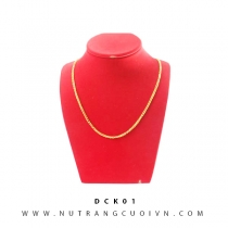 Mua DÂY CHUYỀN VÀNG 24K DCK01 tại Anh Phương Jewelry