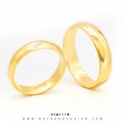 Mua NHẪN CƯỚI VÀNG ANC111M tại Anh Phương Jewelry