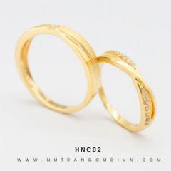 Mua Nhẫn cưới đẹp HNC02 tại Anh Phương Jewelry