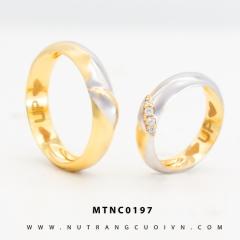Nhẫn cưới MTNC0197