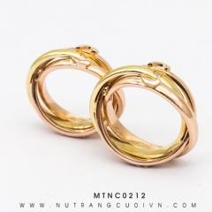 Nhẫn Cưới Hai Màu MTNC0212