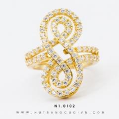 Mua Nhẫn Nữ N1.0102 tại Anh Phương Jewelry
