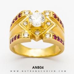 Mua Nhẫn Nam ANB04 tại Anh Phương Jewelry
