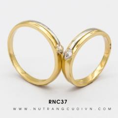 Nhẫn Cưới Vàng RNC37