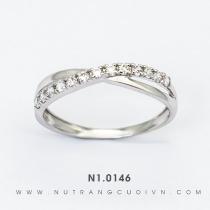 Nhẫn Kiểu Nữ N1.0146