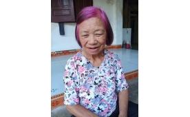 Cụ bà chơi trội nhuộm tóc hồng gây sốt mạng xã hội.