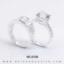 Mua Nhẫn Cưới Vàng Trắng NC.0100 tại Anh Phương Jewelry