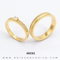 Mua Nhẫn Cưới Vàng ANC62 tại Anh Phương Jewelry