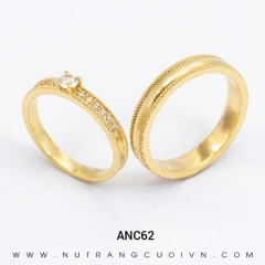 Nhẫn Cưới Vàng ANC62