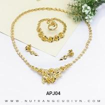 Mua Bộ Trang Sức Cưới APJ04 tại Anh Phương Jewelry