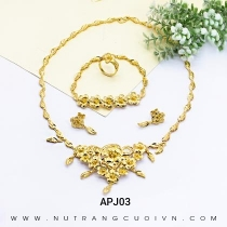 Mua Bộ Trang Sức Cưới APJ03 tại Anh Phương Jewelry