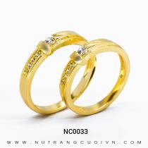 Mua Nhẫn Cưới Vàng NC0033 tại Anh Phương Jewelry