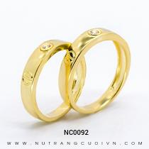 Mua Nhẫn Cưới Vàng NC0092 tại Anh Phương Jewelry