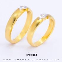 Mua Nhẫn Cưới Vàng RNC30-1 tại Anh Phương Jewelry
