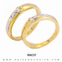Mua Nhẫn Cưới Vàng RNC37 tại Anh Phương Jewelry